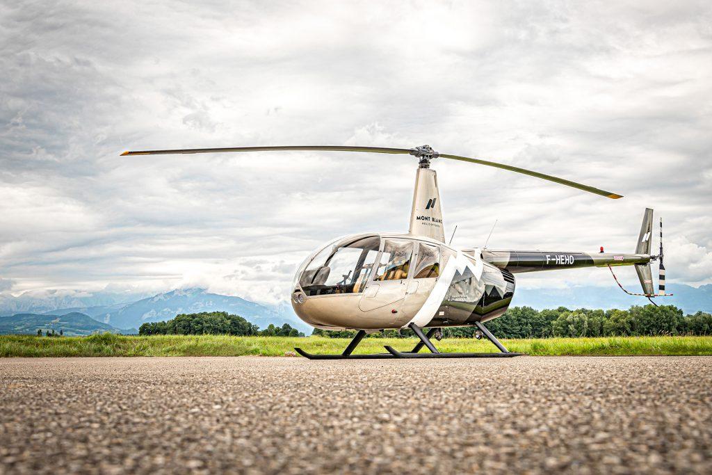 Travail aerien - Surveillance aerienne - Mont Blanc Hélicoptère Oléron