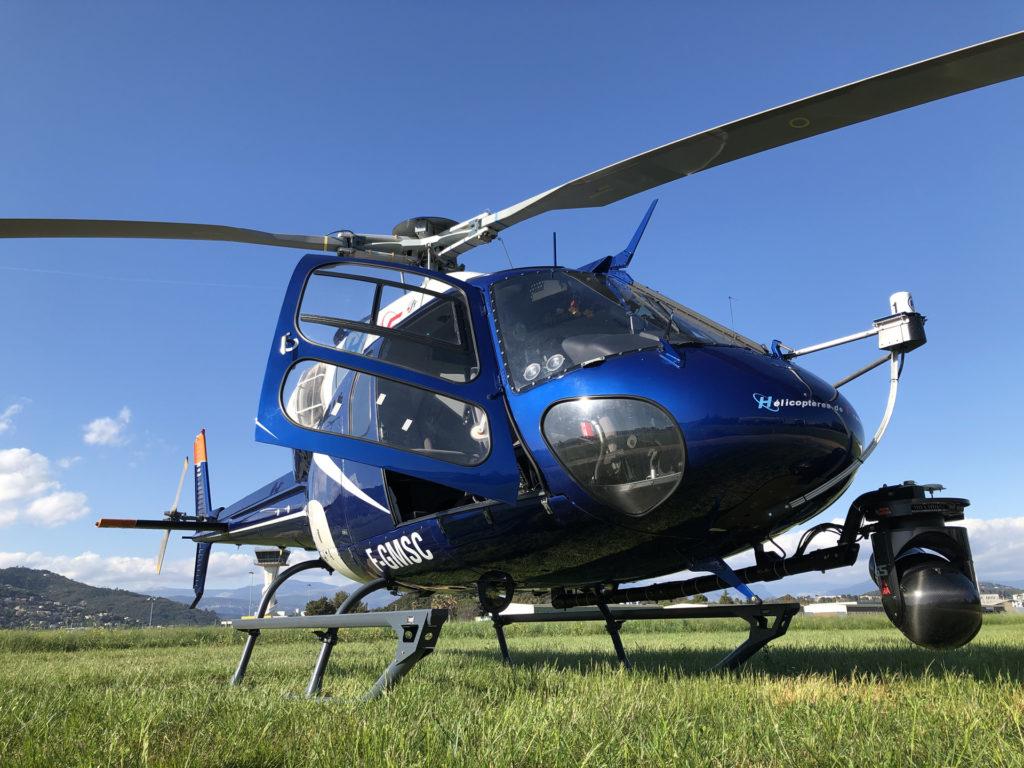 Travail aerien - Prise de vue aerienne - Mont Blanc Hélicoptère Oléron